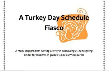 Math AIW Thanksgiving Schedule Fiasco