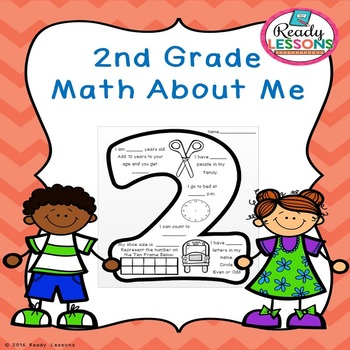 Free Math About Me 2nd Grade
