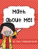 Math About Me!  By The 2 Teaching Divas
