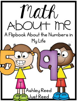 Math About Me Flip Book
