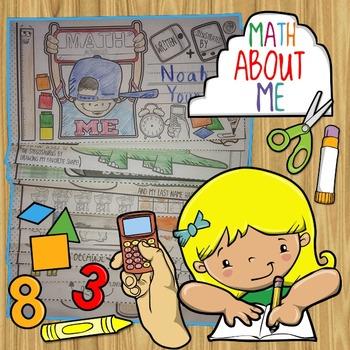 Math About Me mini-book