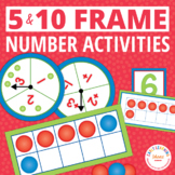 Ten Frame Counting and Number Activities for Preschool, Pr