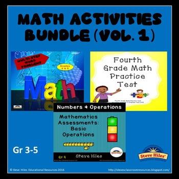 Math Activity Bundle (Vol.1)