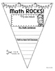 Math Activity Pennant Banner
