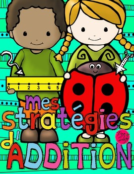 Math Addition Strategies Flip Book ~ French