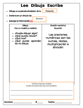 Math Application Problems/ Problemas de Aplicacion