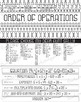 Math, Arithmetic Basics: Order of Operations Poster, Hando