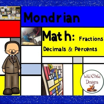 Math & Art Project: Fractions, Decimals & Percents