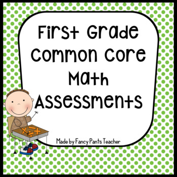 Math Assessments First Grade Common Core