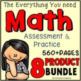 Math Assessments: Math assessments and activities Bundle
