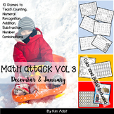 Number: Math Attack! Vol 3, Dec and Jan - Aligned with the