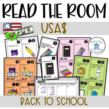 Back to School Math (USA Money)