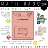 Math Bags for 2nd Grade: Spring Version! (10 Spring Themed