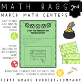 Math Bags for 2nd Grade: St. Patrick's Day Version! (10 Ma