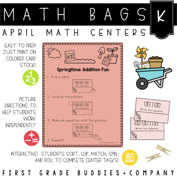 Math Bags for Kindergarten: Spring Version! (10 Spring The