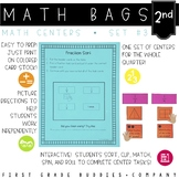Math Bags for 2nd Grade Set 3 (10 Common Core Aligned Math