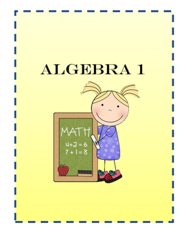 Math Binder Covers and Spines