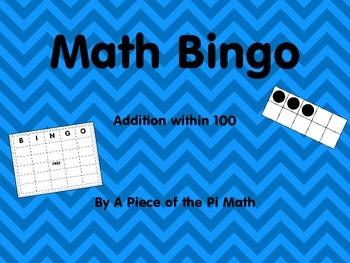 Math Bingo Grade 2
