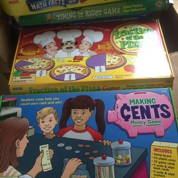 Math Board Games!