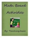 Math Board (daily spiral)