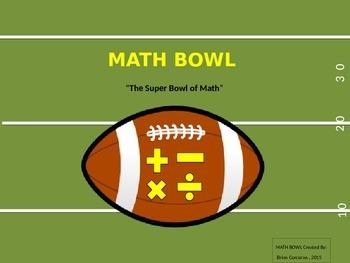 The Super Bowl of Math