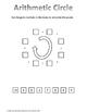 Math Brain Teaser: Arithmetic Circle