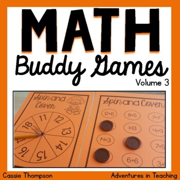 Math Buddy Games Volume 3