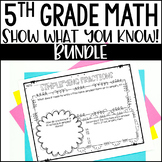 Math Bulletin Boards {5th Grade Common Core: All Standards}