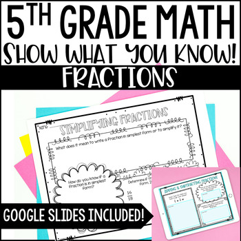 Math Bulletin Boards {5th Grade Common Core: Fractions}