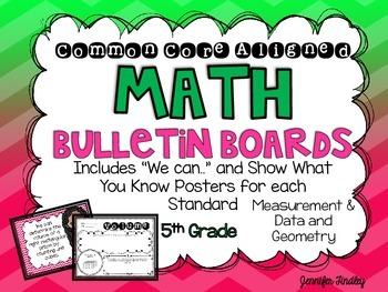 Math Bulletin Boards {5th Grade Common Core: Measurement a