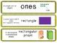 Math CC vocabulary cards