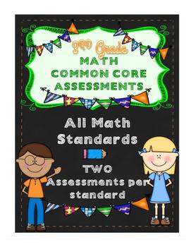 3rd Grade Math CCSS Skills & Constructed/Performance Task