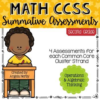 Math CCSS Summative Assessments - SECOND GRADE - Operation