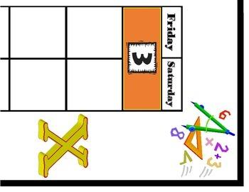 Math Calendar! Math Bulletin Board! Math Theme! Math Theme