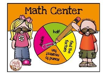 Math Center: Doubles, Halves, Factors, and Rounding