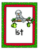 Christmas Math Centers for Pre-K, K, and more.  10 center