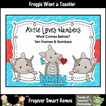 Math Center--Artie Loves Numbers What Comes Before? Ten Fr