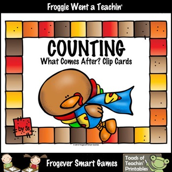 Math Center--Counting by 5s What Comes After? (Thanksgivin