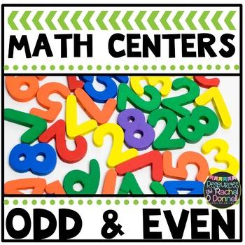 Math Center Even and Odd
