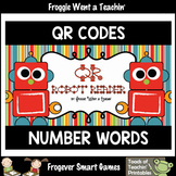 QR CODES--Number Words (zero through twenty) FREE/REVISED