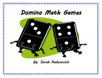Math Center Games with Dominoes: Add, Subtract, Multiply