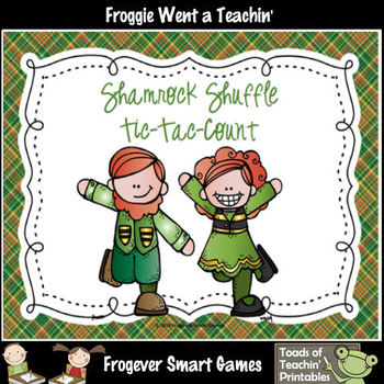 St.Patricks Day--Shamrock Shuffle Tic-Tac-Count (Base Ten Blocks)