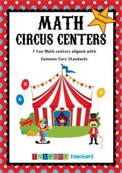 Math Centers - Common Core aligned