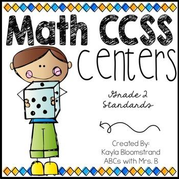 Math Centers: Grade 2 CCSS