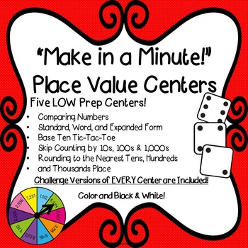 Math Centers: Place Value