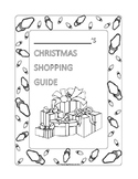 Math Christmas Shopping Guide Project