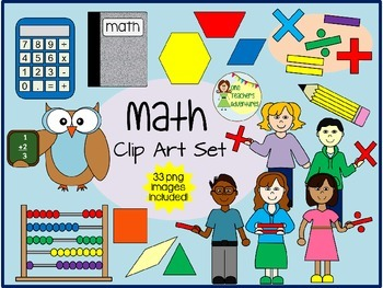 Math Clip Art - 33 images for personal or commercial use