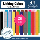Math Clip Art: Linking Cubes and Page Frames