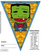 Math, Colors, Scissors - 001 - Halloween - 2nd grade - Com