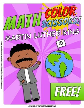 Math, Colors, Scissors - 003 - Martin Luther King - FREE -
